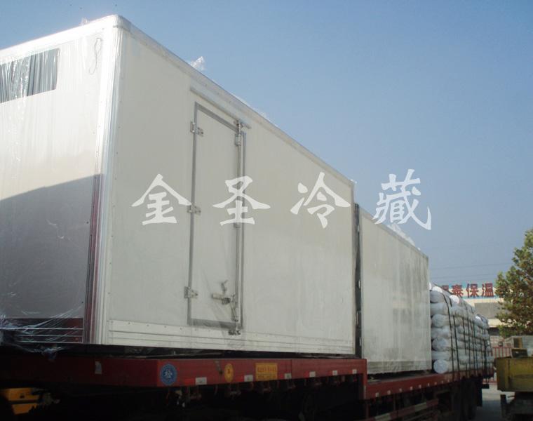 出口冷藏车箱体