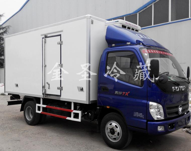福田奥铃4.2米冷藏车 五十铃发动机