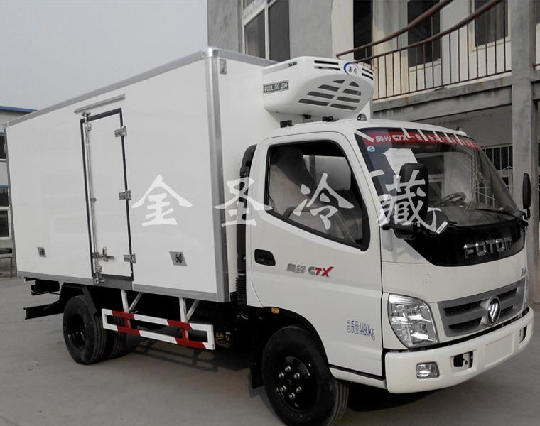 福田奥铃4.2米冷藏车