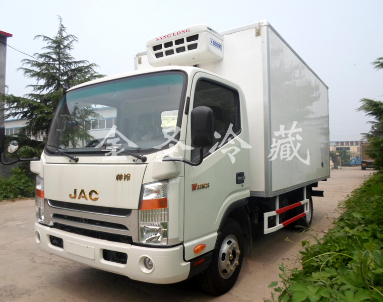 江淮帅铃4.2米冷藏车