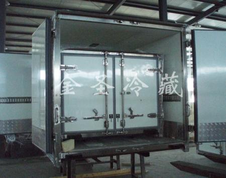 天津出口冷藏车箱体
