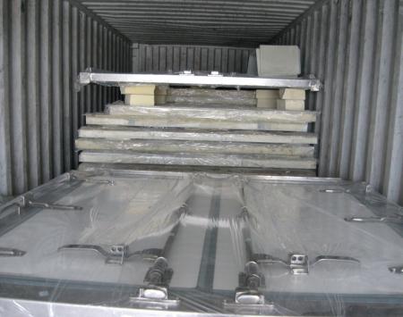冷藏车箱体散板