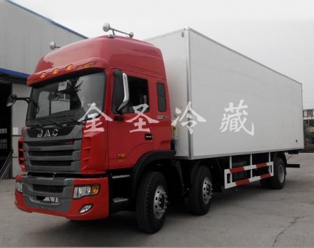 江淮格尔发8.6米冷藏车