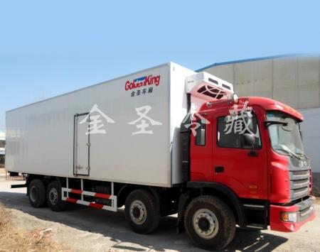 江淮格尔发9.6米冷藏车