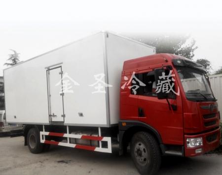 解放龙V6.8米冷藏车