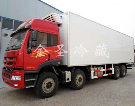 解放新悍威冷藏车9.6米冷藏车