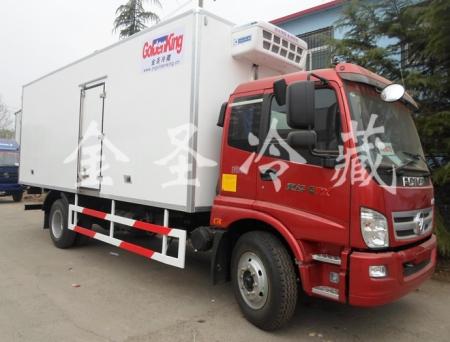 陕汽德龙9.6米冷藏车
