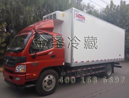 福田欧马可6.2米冷藏车
