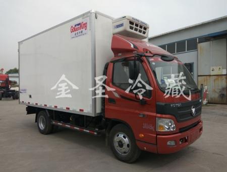 国五福田欧马可129马力冷藏车数据