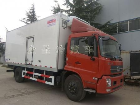 江苏东风天锦6.8米冷藏车