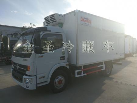 东风凯普特4.3米冷藏车